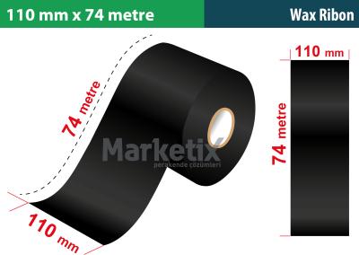 110x74 Metre Wax Ribon